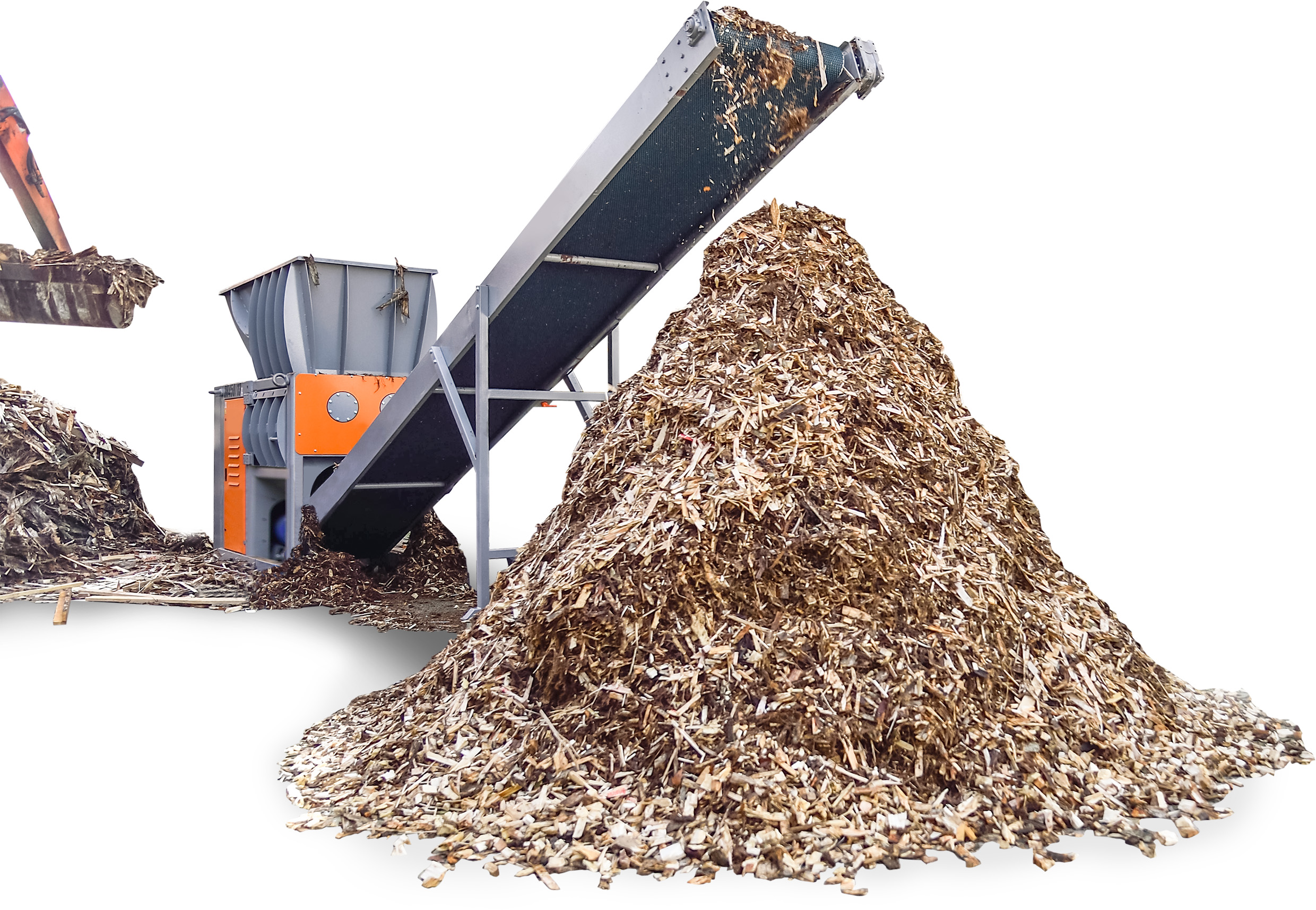 Wood recycling system