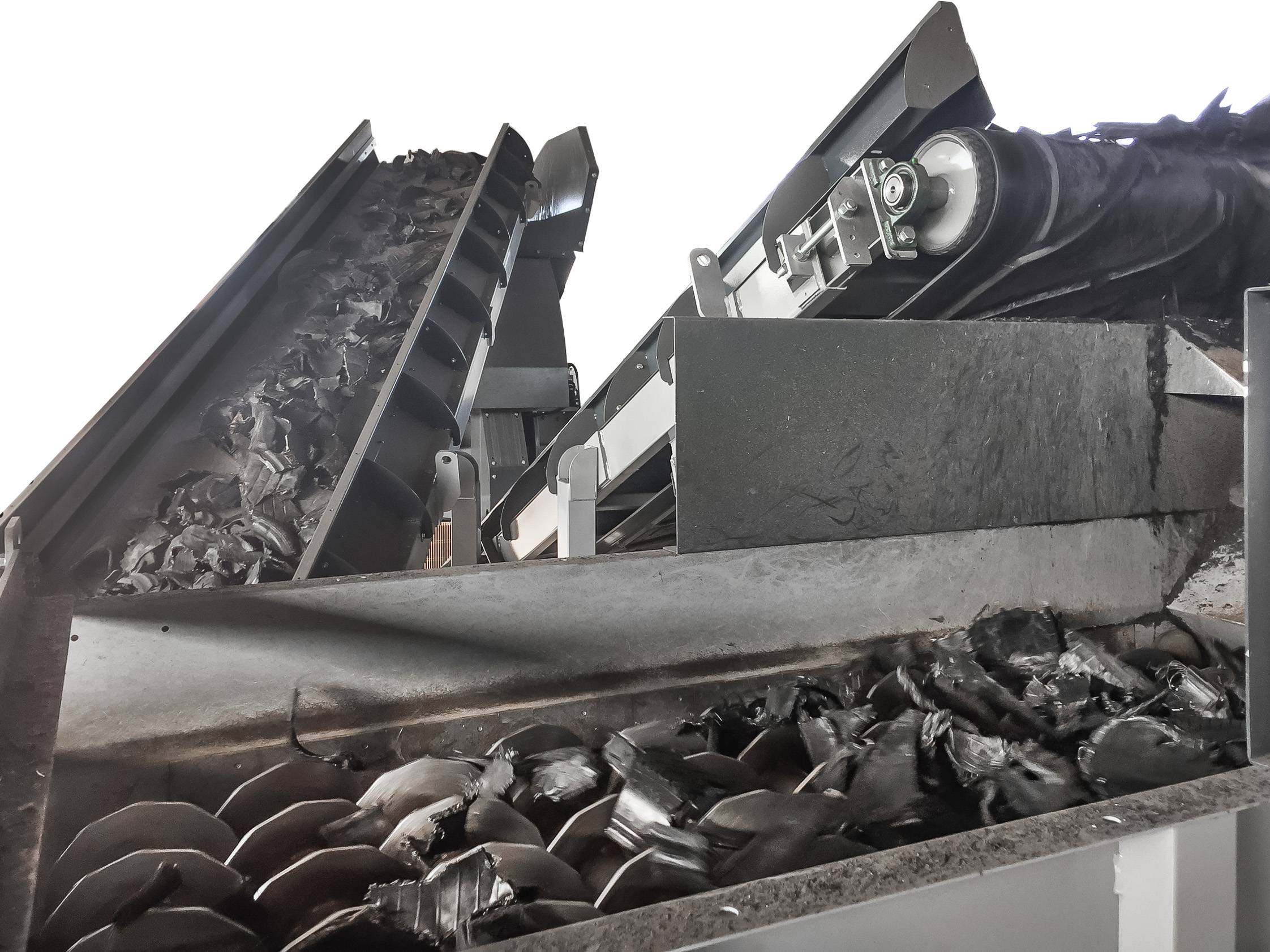 Rubber conveyors