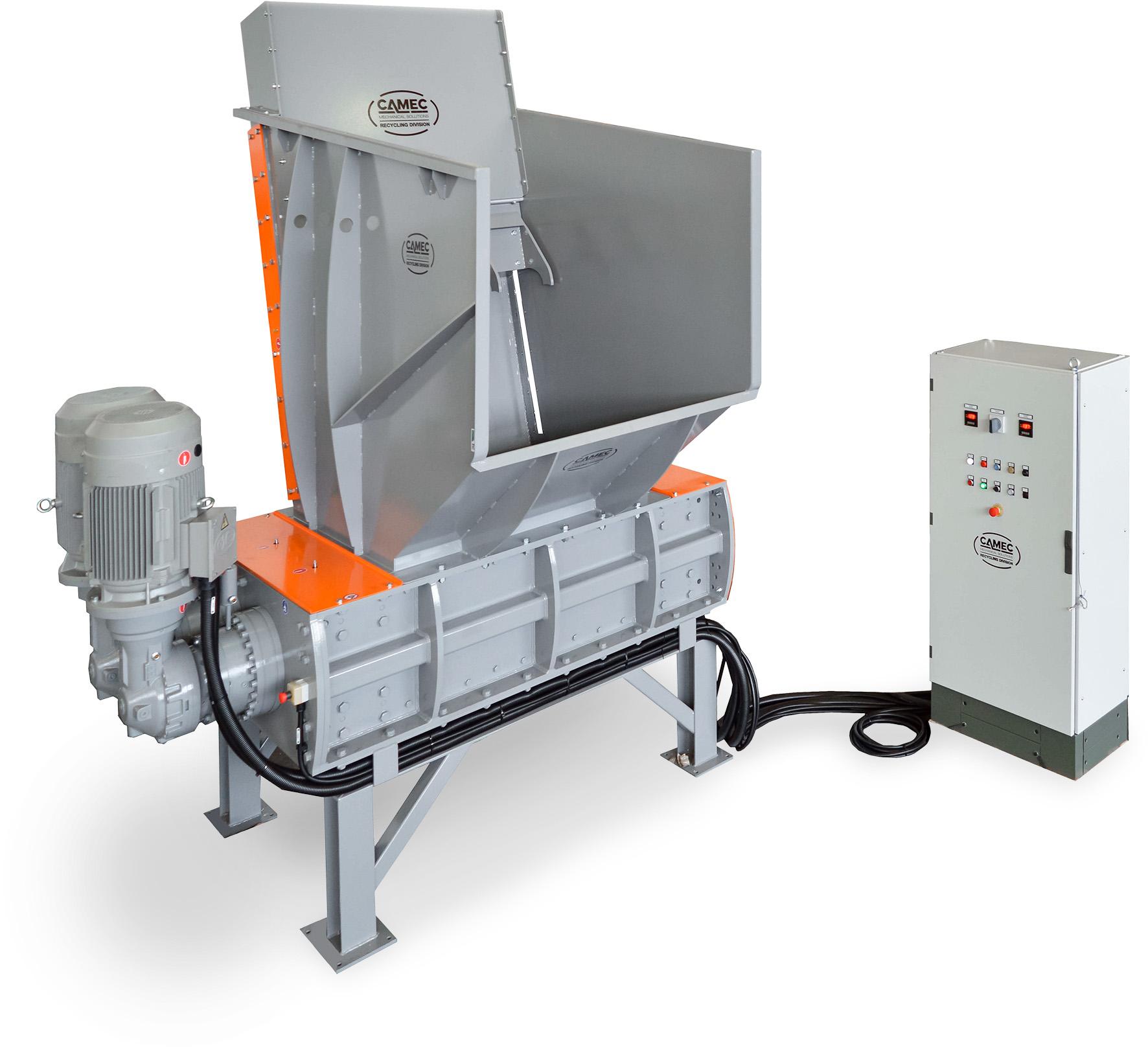 Two-shaft shredder – TR2A400