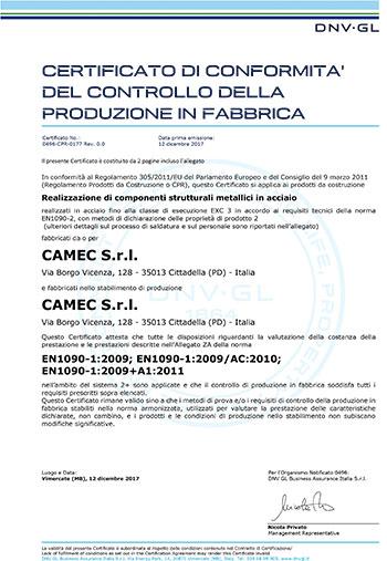 camec-certificazioni-azienda-certificato-EN1090-ita